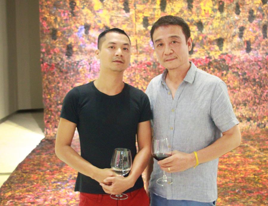 The Factory Contemporary Arts Centre Curator Artist Trần Lương And Phạm Trần Việt Nam